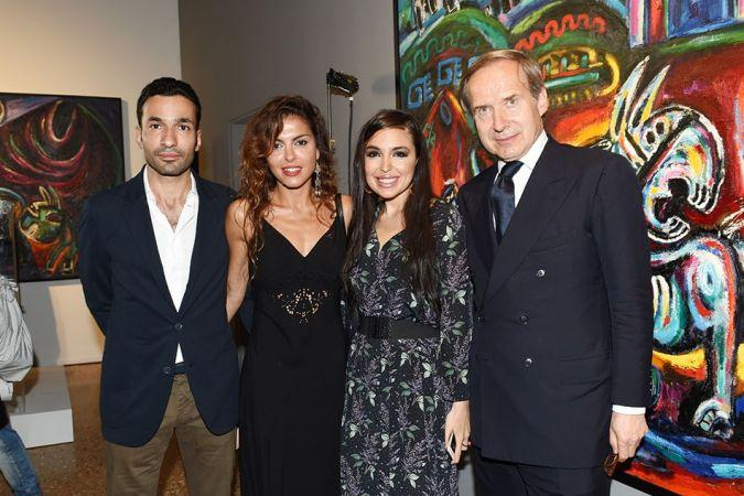 Leyla Aliyeva, Vice-President of Heydar Aliyev Foundation attends opening of exhibitions in the framework of 56th Venice Biennale