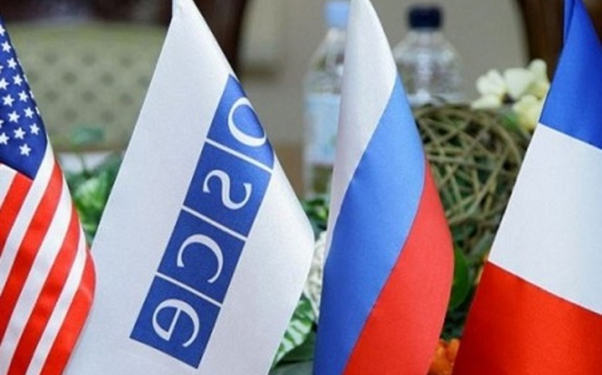 ​OSCE Minsk Group calls the sides to honour the results of meetings in Vienna and St.Petersburg