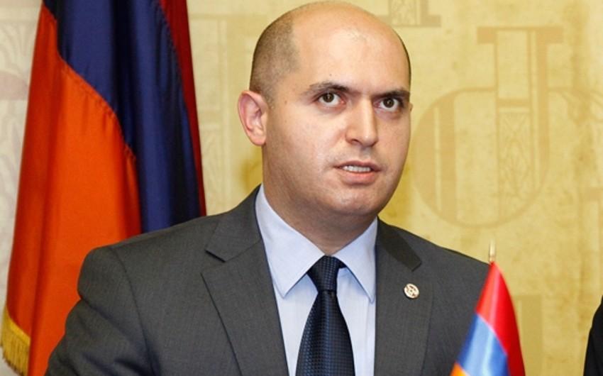 Ermənistan parlamentinin nümayəndə heyəti Xankəndinə gəlib
