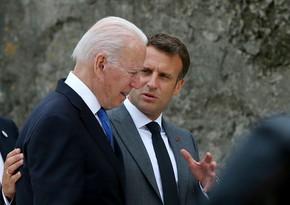 ABŞ və Fransa dövlət başçılarının görüşünün vaxtı məlum olub
