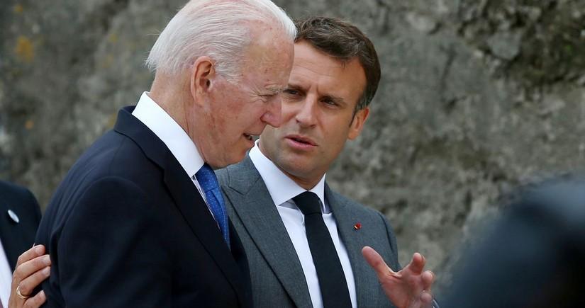 В Белом доме анонсировали встречу Байдена и Макрона