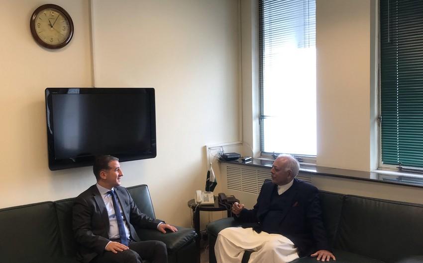 Azərbaycanla Pakistan arasında enerji sahəsində əməkdaşlıq müzakirə edilib