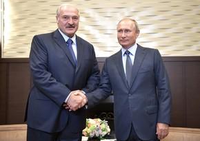 Lukaşenko ilə Putin arasındakı telefon danışığının təfərrüatı məlum olub