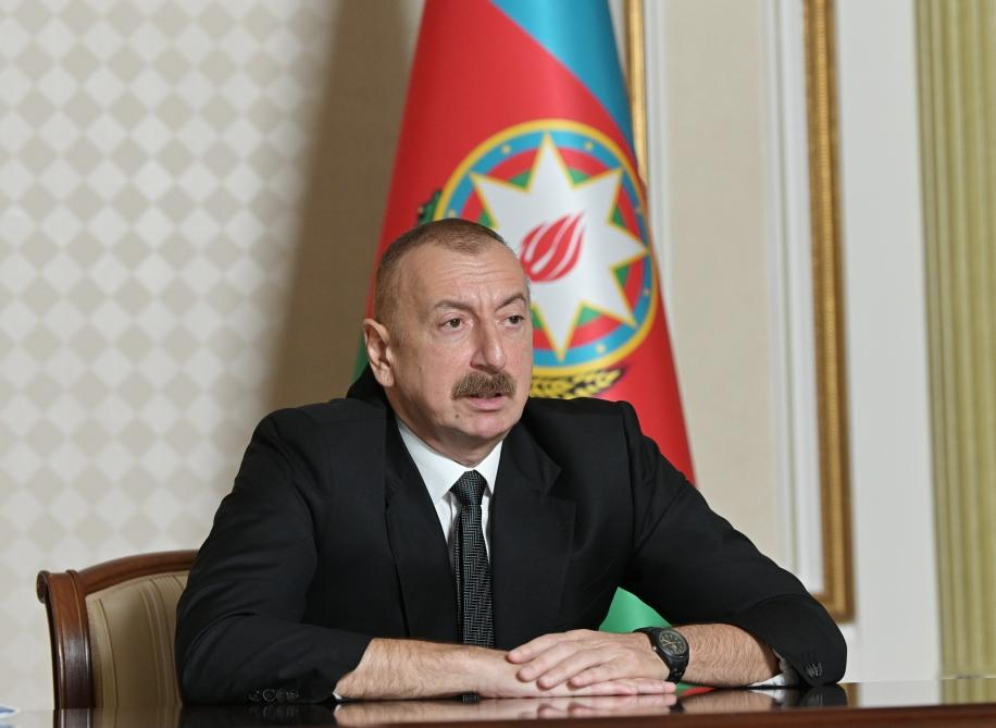 Azərbaycan Prezidenti: Bizim qonşularımızla münasibətlərimiz nümunəvi xarakter daşıyır