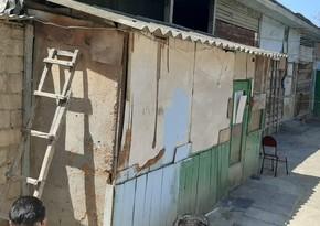 На населенной вынужденными переселенцами территории произошел оползень