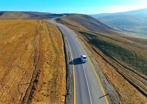 Qobustan rayonunun Ərəbqədim–Göydərə avtomobil yolu yenidən qurulub