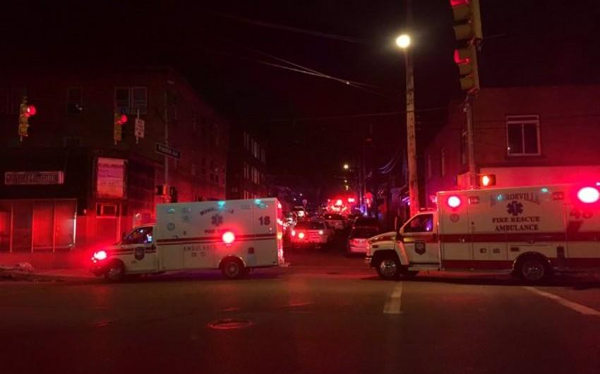 ABŞ-da atışmada 5 nəfər ölüb, 3 nəfər yaralanıb