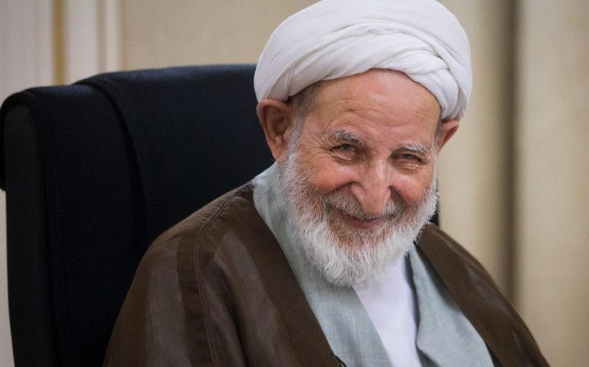 İranın tanınmış din xadimi vəfat edib
