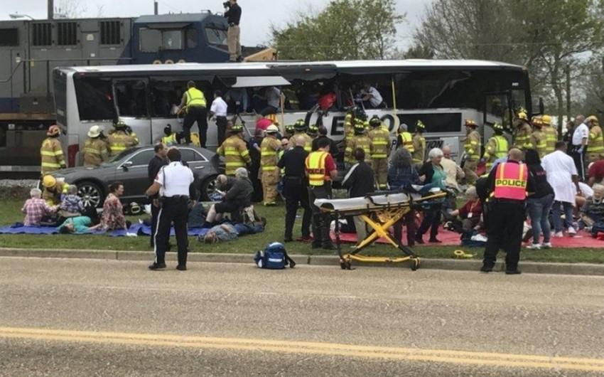 Rusiyada qatarla avtobusun toqquşması nəticəsində ölənlərin sayı 17 nəfərə çatıb, 12 yaralı var - YENİLƏNİB-2 - VİDEO
