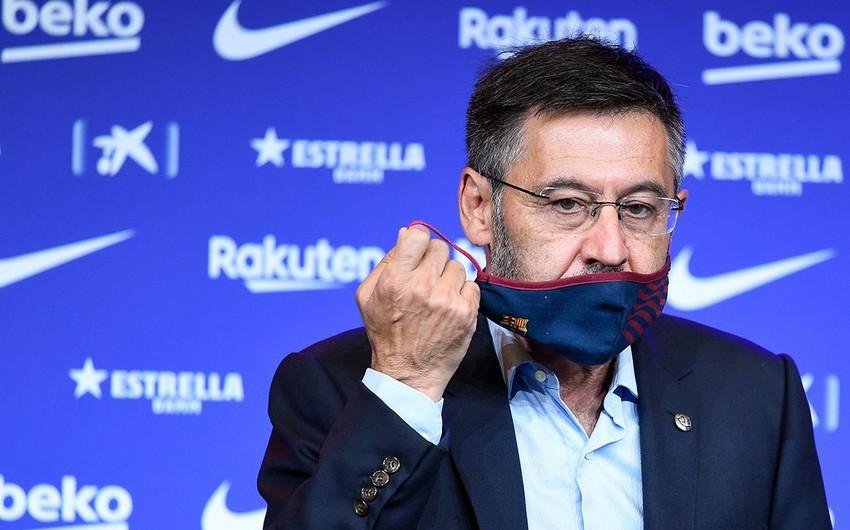 Barselonanın prezidenti karantinə alındı