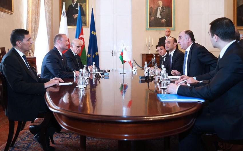 Azərbaycanın XİN başçısı Maltanın baş naziri ilə görüşüb