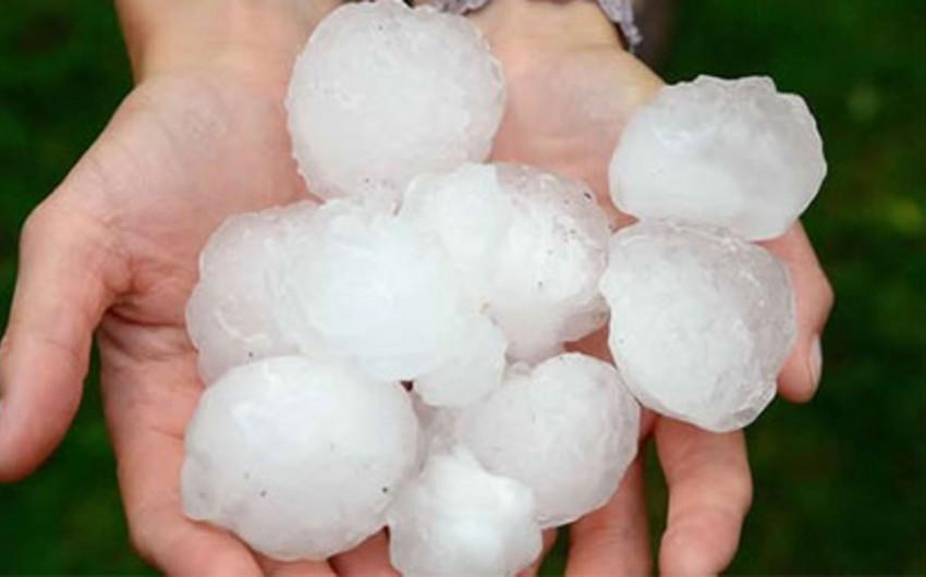 Hail expected in Azerbaijani regions on June 2