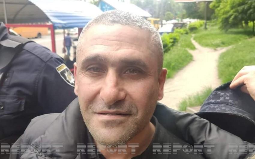 Киевская полиция задержала сбежавшего из суда азербайджанца