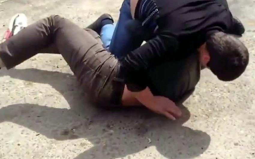 В Билясуваре избит водитель машины скорой медицинской помощи