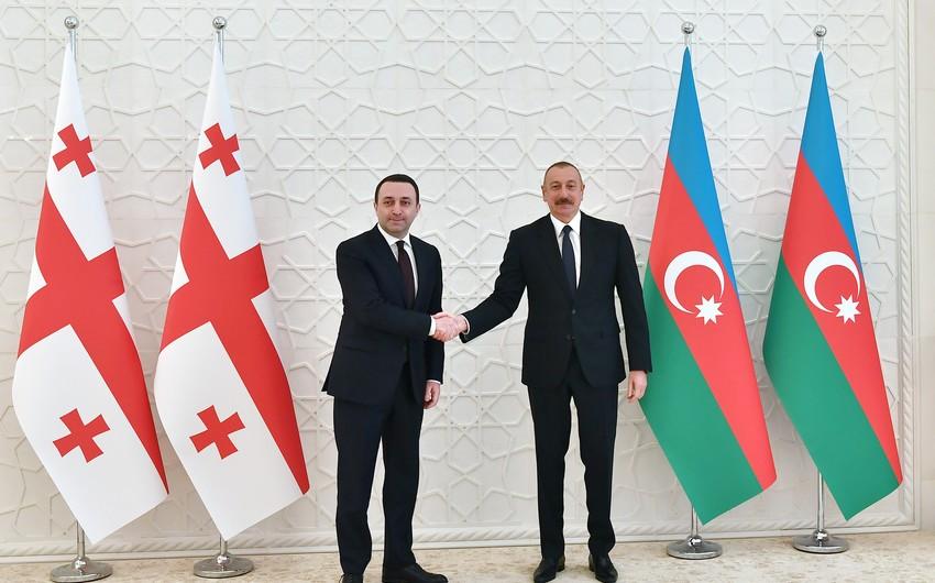 Gürcüstanın Baş naziri Azərbaycan Prezidentini ölkəsinə səfərə dəvət edib