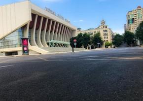 Baku falls into silence- PHOTOREPORT