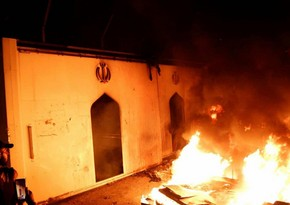 Iran's consulate in Karbala set on fire