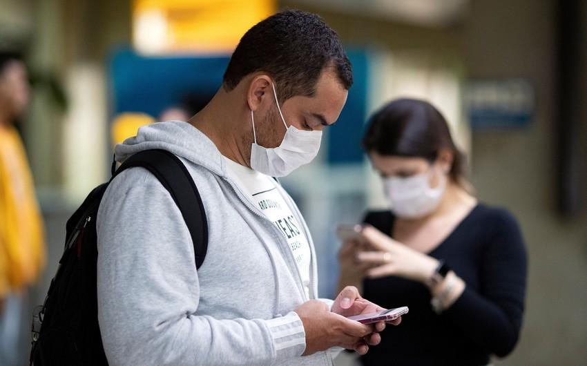 Braziliyada virusa yoluxanların sayı 10 milyonu ötdü