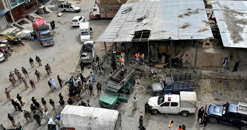 Pakistanda partlayış: 7 nəfər ölüb, 70 nəfər yaralanıb