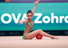 Tokio-2020: Azərbaycanın bədii gimnastı ikinci çıxışını başa vurub