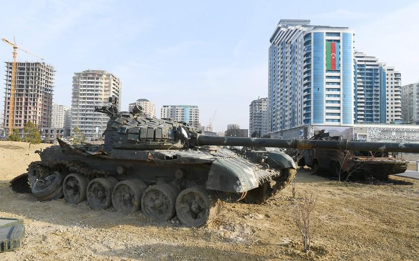 Hərbi Qənimətlər Parkının açılışı Moldova KİV-də geniş işıqlandırılıb