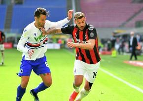 Милан в большинстве ушел от поражения в матче Серии А