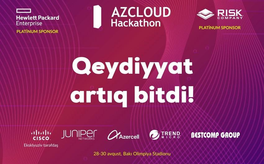 """Sabah """"AZCLOUD Hackathon 2019""""un iştirakçı komandalarının adları açıqlanacaq"""