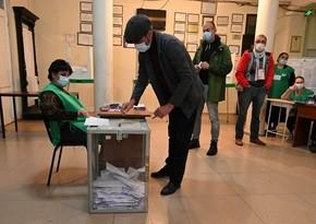 ЦИК Грузии: Явка избирателей составила свыше 41%