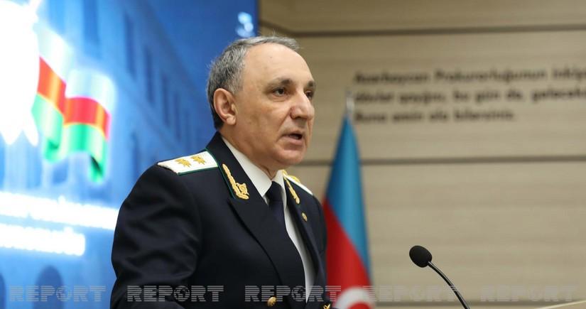 Baş Prokuror Vasif Talıbovla görüşüb