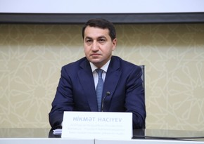 Hikmat Hajiyev: Armenia's commitment to humanitarian ceasefire is complete hypocrisy
