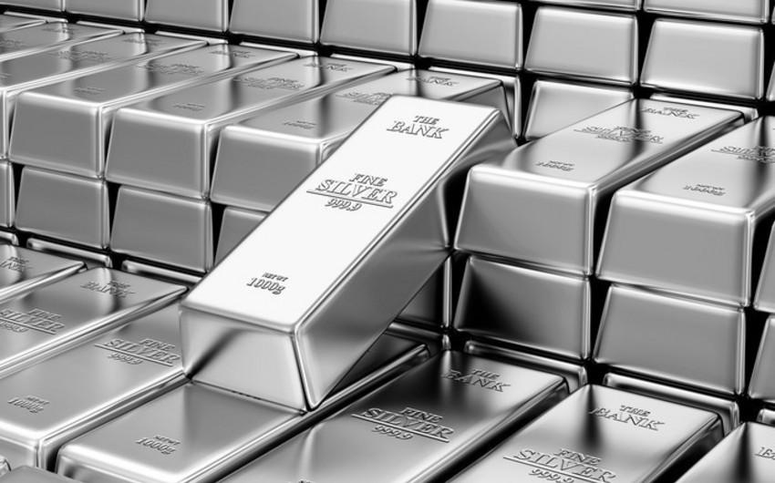 Azərbaycanda gümüş istehsalı 41% artıb