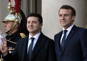 Зеленский обсудил с Макроном вопрос членства Украины в НАТО