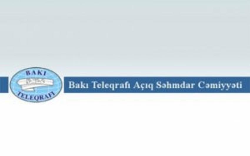 """Azərbaycan """"Bakı Teleqrafı""""nı satışa çıxarıb"""