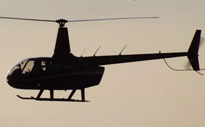 Yaponiyada helikopter qəzası baş verib, xəsarət alanlar var - FOTO