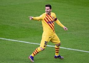 Messi Ronaldunu qol sayında üstələdi