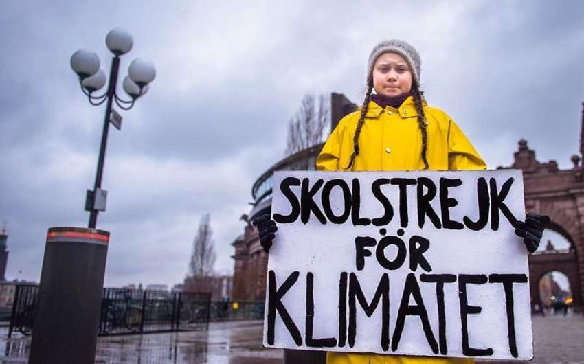 İsveçli məktəbli qız Nobel Sülh Mükafatına namizəd olub
