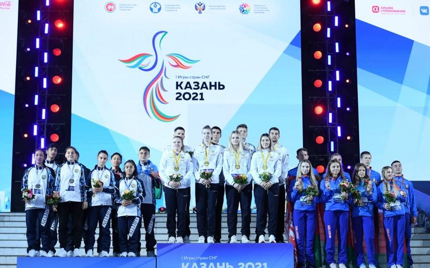 I Игры стран СНГ: Сборная Азербайджана по бадминтону завоевала серебряную медаль