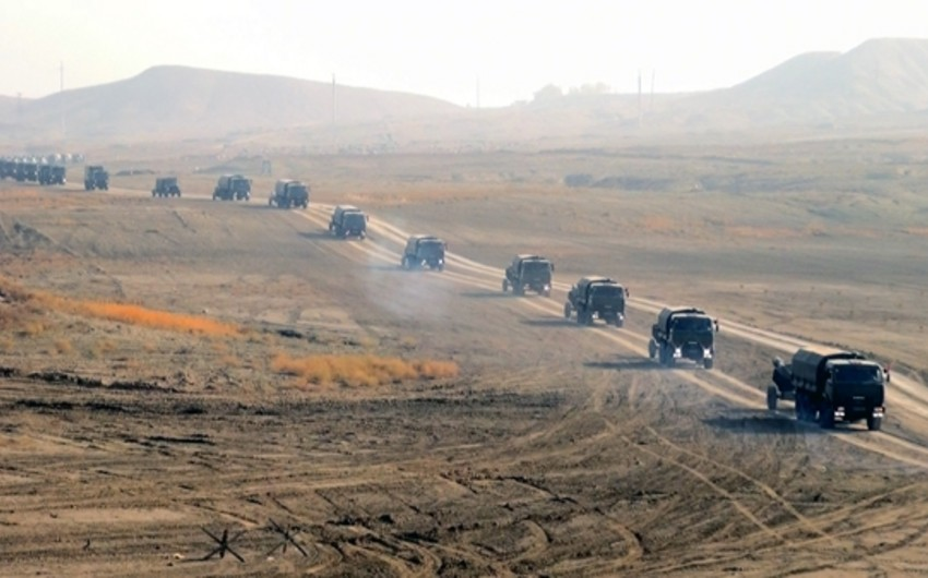 Armed Forces large-scale exercises to continue in Nakhchivan