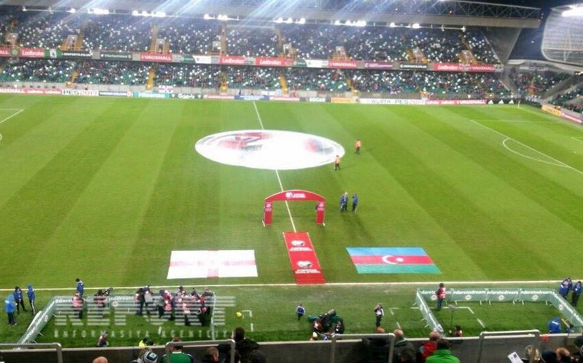 Şimali İrlandiya-Azərbaycan oyunu yağışlı havada keçiriləcək - FOTO