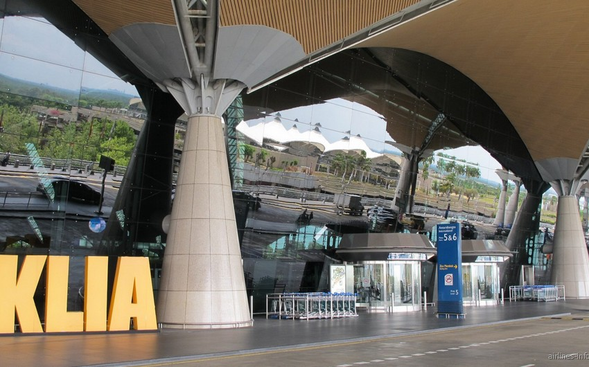 Kuala-Lumpur aeroportunda sərnişin qəbulunda problem yaranıb