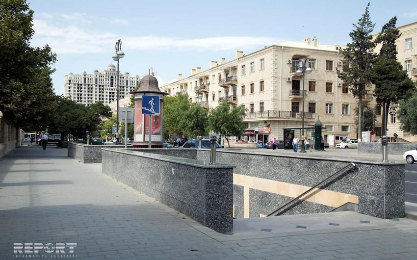 Наземные и подземные пешеходные переходы в Баку взяты под контроль