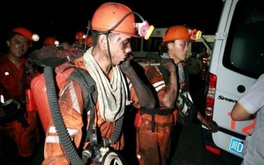 Çində daş kömür mədənində faciə baş verib