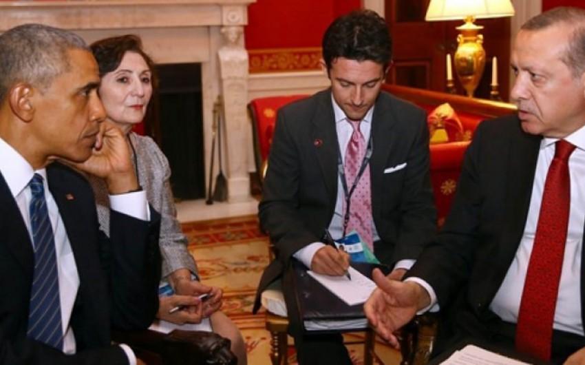 ABŞ və Türkiyə prezidentləri arasında görüş keçirilib