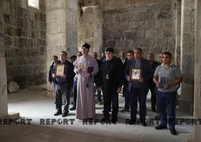 Mahnı sədaları altında Laçına gedən udilər - VİDEOREPORTAJ