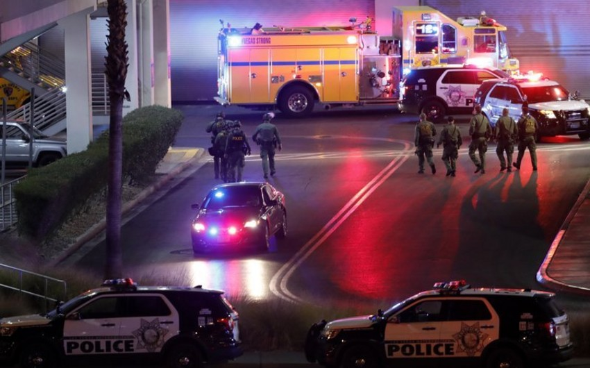 Three injured in Las Vegas shooting