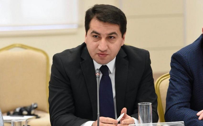 XIN: Ermənistan regionda sülh, sabitlik və öncədən görünə bilən vəziyyətin bərqərar olmasında maraqlı deyil