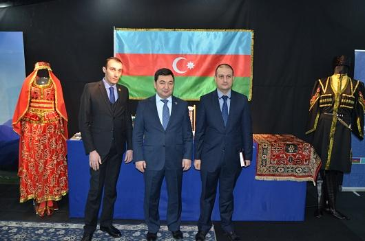Azerbaijan presents museum exhibits to International Turkic Academy