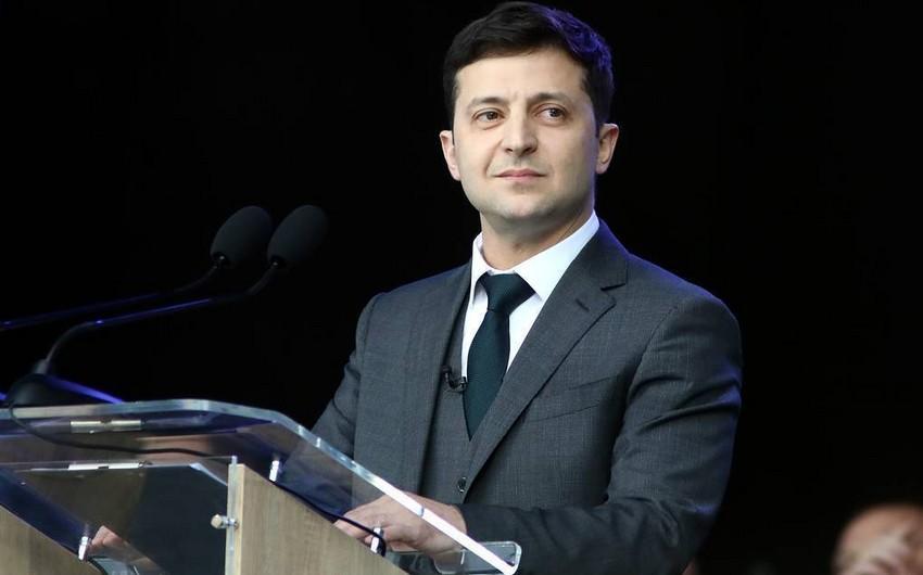 Vladimir Zelenski Prezident İlham Əliyevə təbrik məktubu göndərib