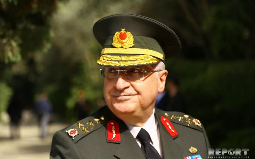 Türkiyənin Jandarma Qüvvələrinin komandanı Azərbaycanda səfərdədir