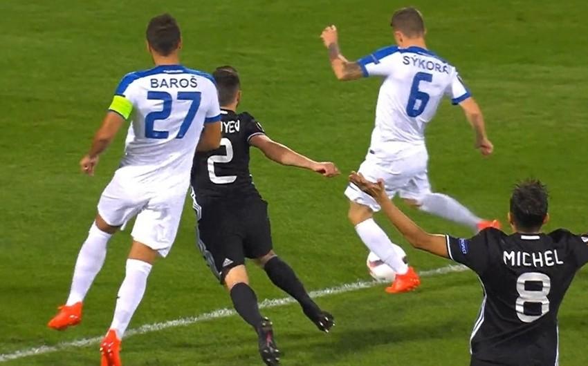 УЕФА назвал точное время забитого в Баку быстрого гола